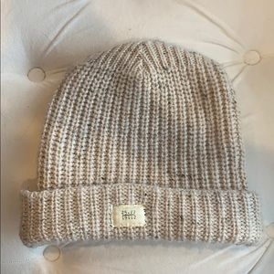 Thick Free People knit hat